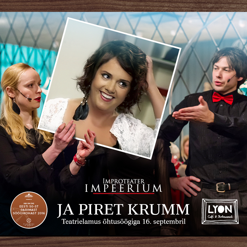 Piret Krumm Viru Cafe Lyonis