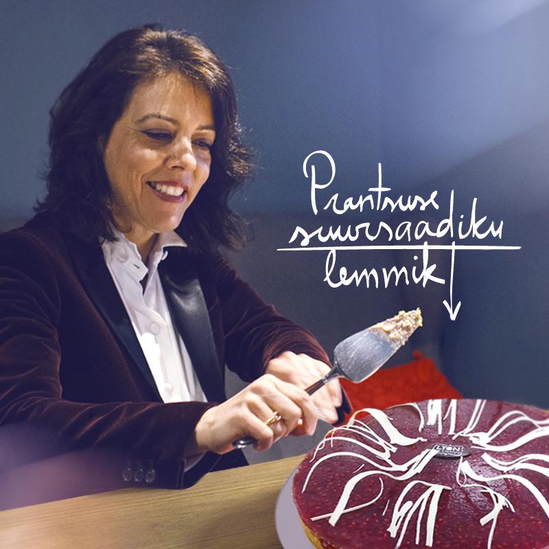 Prantsuse suursaadik kooki valimas